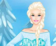 Barbie moda frozen