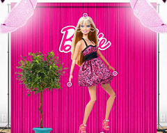 Barbie model la pozat