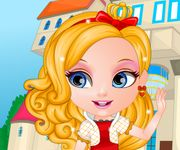 Bebelusa barbie ever after high