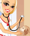 Barbie veterinar dress up