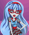Ghoulia monster high de imbracat